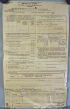Vintage Met Life Insurance Form Proofs of Death