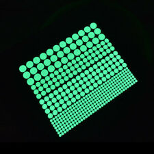 407X Dot Wall Stickers Glow In The Dark Mural Living Room Bedroom Ornaments