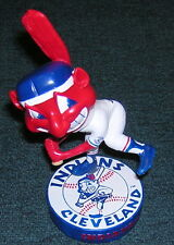 Cleveland Indians 1975 Style Chief Wahoo Bobblehead Tribe