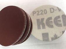 "200- Choice of Grit 3"" HOOK & LOOP Sanding Disc W/F Holder KEEN Abrasives 76139"