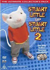 Stuart Little / Stuart Little 02 (DVD, 2003, 2-Disc Set) VG