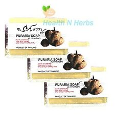 3x 50g.Pueraria Mirifica Soap Scented Soap for Face & Body Firming