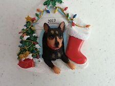 Mini Pinscher 2013 Ornament