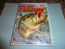 SEGA Bass Fishing  (Wii, 2008) new