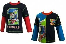 Thomas the Tank Engine 2 Pack Manche Longue Tops 18-24
