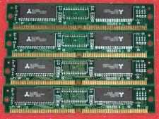 (4) 4MB 72pin RAM Memory SIMMS for Commodore Amiga 4000 4000T 16mb 72-pin 60ns