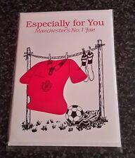 Manchester United Memorabilia Retro Birthday Card