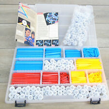 Zometool CONSTRUCTION SET + BUBBLES 944pc Teacher Education Builders Set RARE!