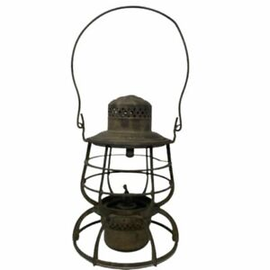 Antique 1886 Armspear New York Railroad Lantern  Without Globe