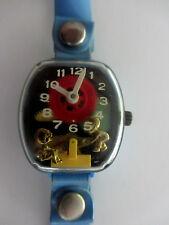 Vintage Blue Merry Manufacturing USA Plastic Teeter Totter Watch Needs Repair..j