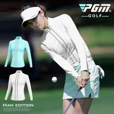 Pgm Women Slim Long Sleeve T-Shirt Coat Sunscreen Anti-UV Spring Jacket Tops