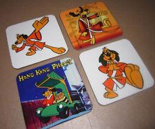 Hong Kong Phooey Great New COASTER Set