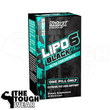 NUTREX LIPO-6 BLACK Hers 60ct - Extreme Fat Loss Support - Ultra Concentrate