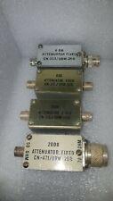 4 Fixed Attenuator 20 DB & 6 DB AF ARNOLD BF CN 315 316 471 URM-26B US MILITARY
