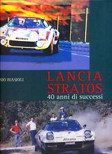 Lancia Stratos - 40 anni de successi -  NEW book!!!