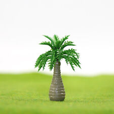 YS08 20 Model Bottle Coconut Palm Trees Model Layout Train Scale 1/250 Z HO NEW
