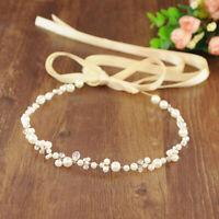 Fascia da sposa in cristallo con accessori per capelli da sposa con strass