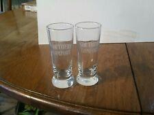 4 Southern Comfort Crystal Comfort BULLFROG Test Tube Shot Glasses...NEW