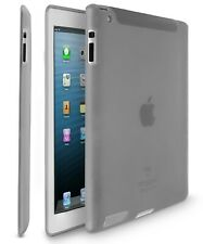For iPad 4 3 2 Durable Tough Flexible Skin Silicone Slim Drop Protection Case