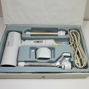 Norelco Satin Collection 5 PC Hair Dryer Curling Iron Brush Travel Lightweight
