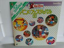 Walt Disney Home Video Cartoon Festival laserdisc Japan MINT OBI SF078-0047