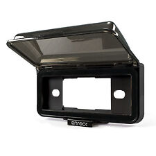 Enrock Marine Single Din Radio Dash Cover Boat/OffRoad, Spring Loaded, Tinted
