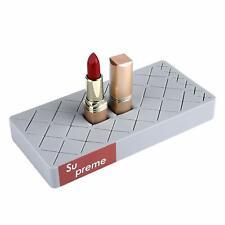 Silicone Lipstick Storage Rack Cosmetics Storage Box Makeup Holder Organizer Gra