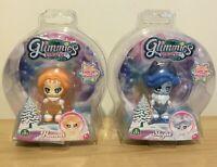 Glimmies Polaris Dolls x 2 Hanna and Skylie New In Sealed Box