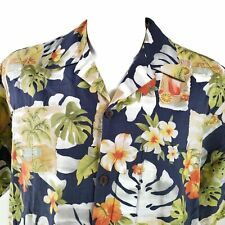 Go Barefoot Floral XLT Cocktails Hawaiian Aloha Shirt