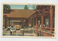 Yellowstone National Park, CANYON LODGE Postcard-Haynes #35361P,1940's