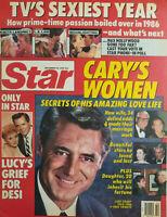 Star Tabloid Dec 16 1986 - Cary Grant - Tvs Sexiest Year - Knots Landing LA Law