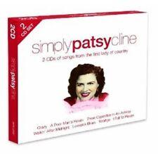 Simply Patsy Cline by Patsy Cline (CD, Jul-2012, 2 Discs, Simply)