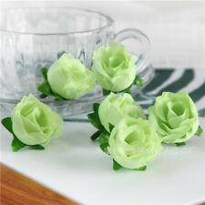 50Pcs Artificial Silk Rose Peony Flower Heads Bulk Craft Wedding Party Decor Hot