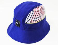 NWT NIKE Sportswear Deep Royal Zipper-Pocket Bucket Hat Cap Men's Unisex Women's