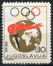 Yugoslavia 1968 SG#1345 Olympic Games MNH #A85489