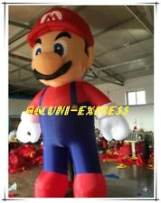 16ft Customized Giant Inflatable Super Mario 5M Mario without blower ax