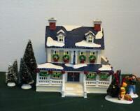 """Dept. 56 Snow Village Home For The Holidays #54934 """"Snowy Pines Inn-MINT IN BOX"""