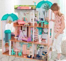 KidKraft 4' Tall Mansion Dollhouse 8 Rooms,30 piece Furniture,Lights & Sounds