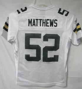 Green Bay Packers Matthews #52 Women's Size Small Super Bowl XLV Jersey A1 757