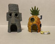 New listing spongebob aquarium decorations set