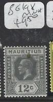 MAURITIUS  (P2903B)  KGV    12C      SG 198   MNH