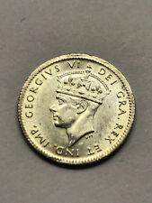1943-C Newfoundland 5 Cent Silver CH. BU. #9389