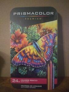 Prismacolor Premier Colored Pencils 24CT Sealed READ DESCRIPTION