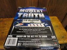 The Moment of Truth Lie Detector Card Game Cardinal  Based on Hit FOX T V Show