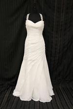 Mermaid & Trumpet Chiffon Regular Strapless Wedding Dresses