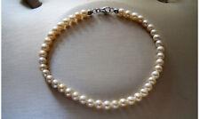 Bracciale Perle Kioto diametro 4 mm Oro Bianco 205B/0