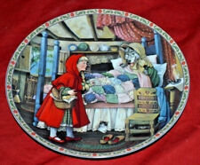 Knowles Little Red Riding Hood Classic Fairy Tales Series Collector Plate 1988