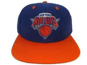 New York Knicks Mens Adidas Size OSFA Flatbrim Snapack Hat
