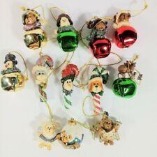 12 Boyds Bears Holiday Resin Hanging Mini Variety Christmas Ornaments