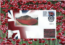 70th Anniversary VE DAY. NMRN stamp. WW11 anniversary Special Handstamp 8th May